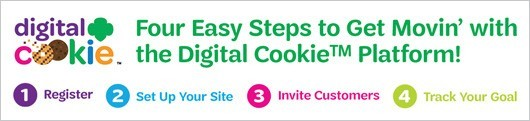 4 Easy Steps to Get Movin' with the Digital Cookie Platform