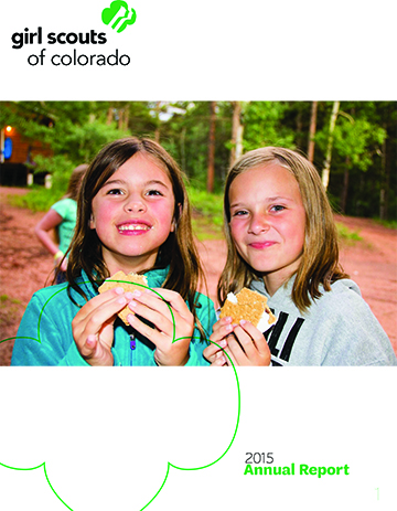 annual report girl scouts of colorado